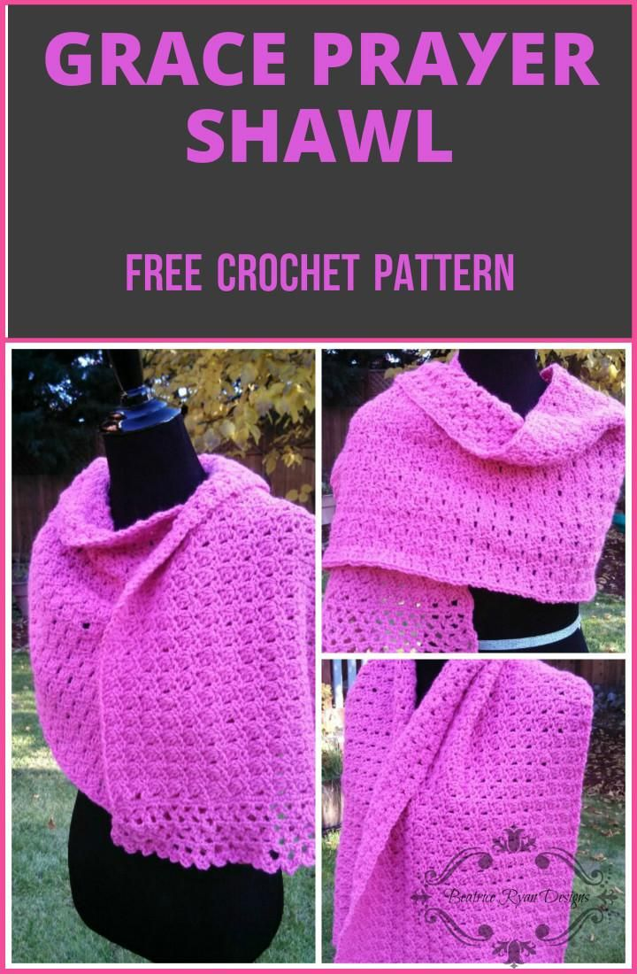 100 Free Crochet Shawl Patterns - Free Crochet Patterns - Page 18 of ...