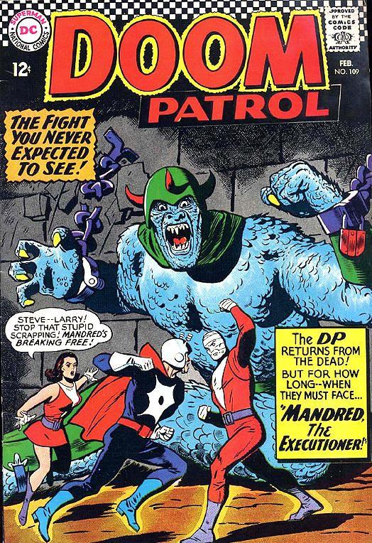 Comic Doom Patrol 109 Comic Cover Art Comic Books Art Comic
