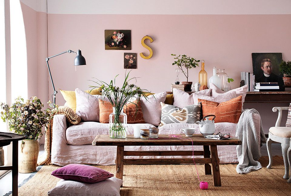 Be My Fresh Valentine  Farrow Ball Pink Room And Room Glamorous Pink Living Room Furniture Inspiration