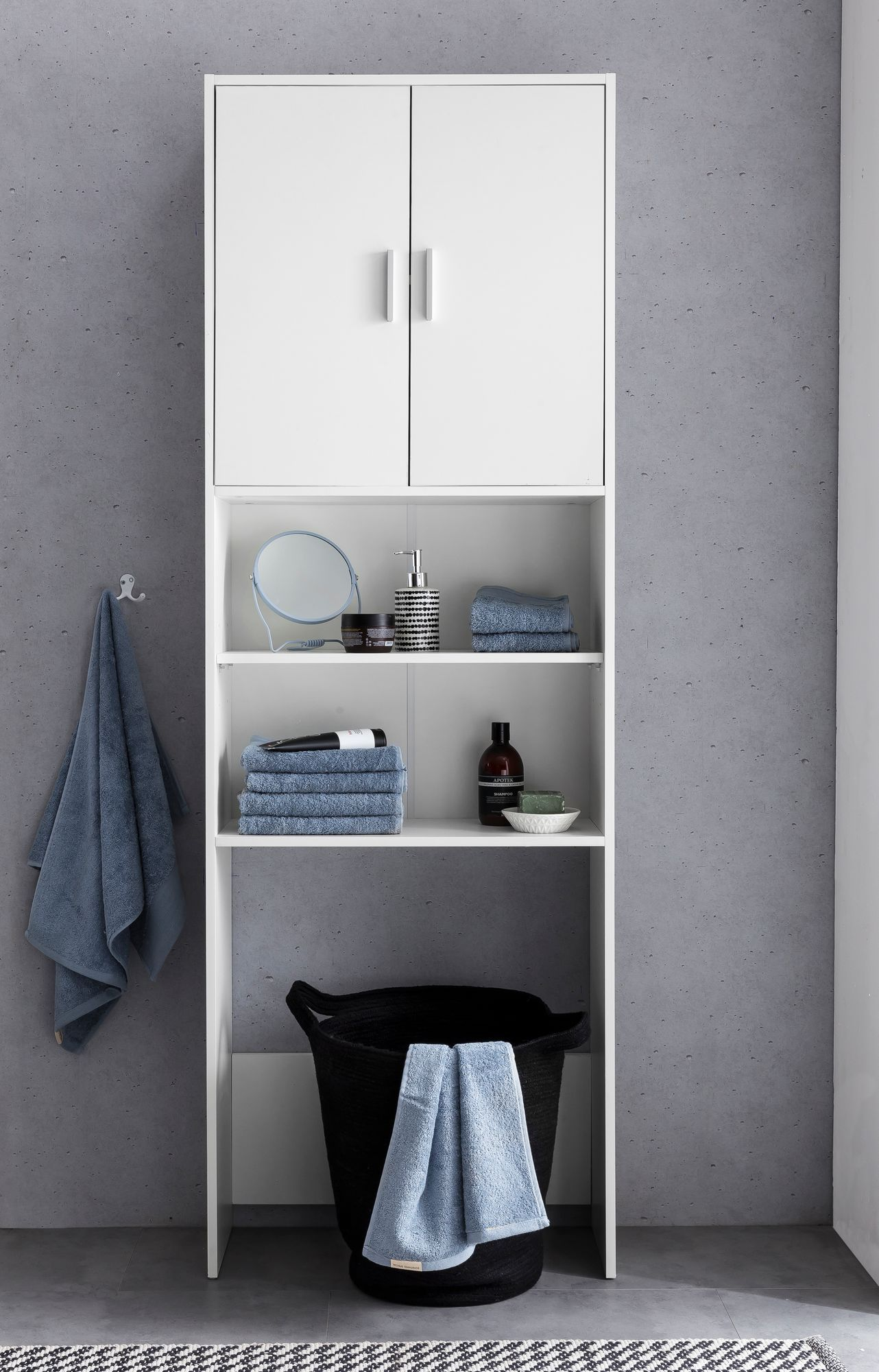 Badezimmerschrank Offen Finebuy Badschrank Weiss Holz