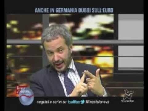 ▶ LA BALLA DEI RISPARMI CHE SI DIMEZZANO SE USCIAMO DALL'EURO Ecco la verità! [Claudio Borghi] - YouTube
