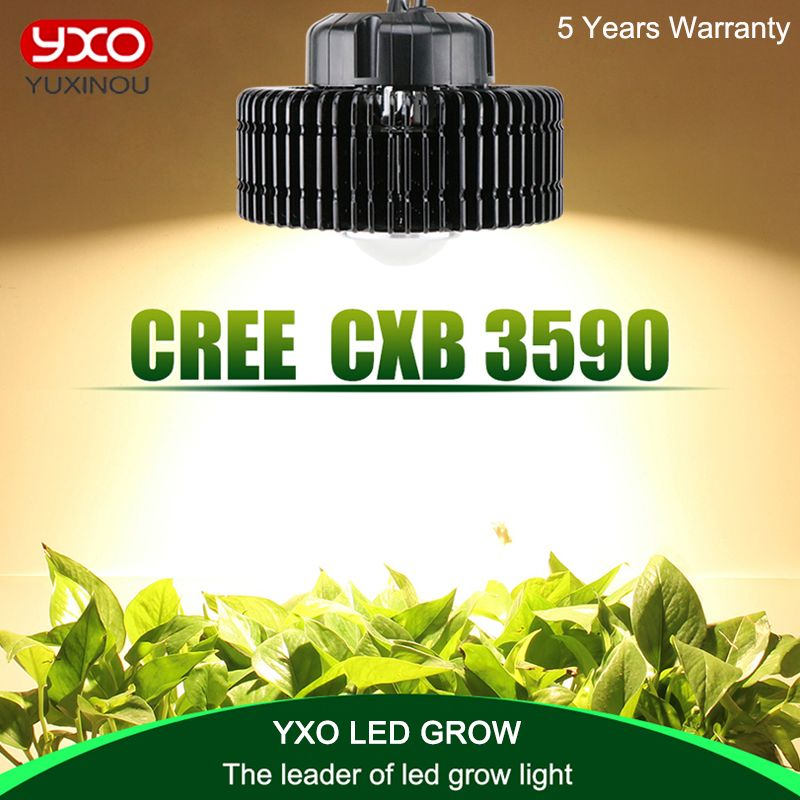 Cree Cxb3590 3500 K 100 W Cob Led Crece La Luz De Espectro Completo Meanwell Conductor Cree Led Lampara Creciente Panel De Led Grow Lights Led Grow Grow Lights