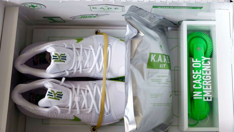 Nike Kyrie Irving Mountain Dew KARE Kit | Sole Collector