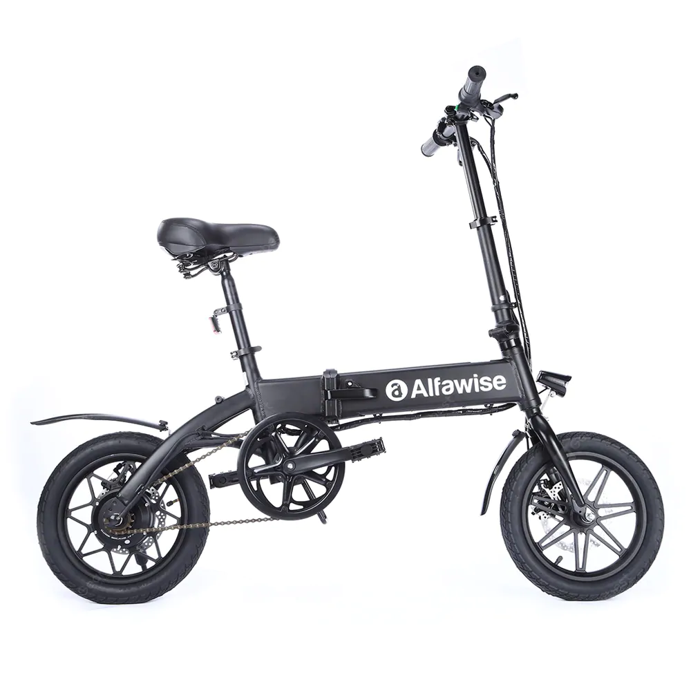 Alfawise X1 Folding E Bike Bicycle Electric Bike With 250w Motor