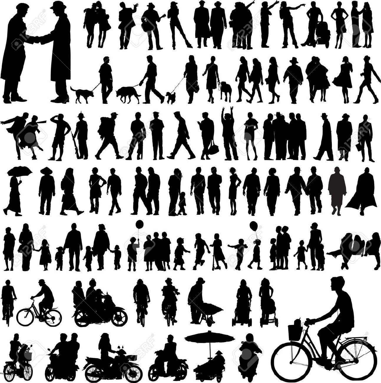 Human Figure Silhouette Google Search Architectural Model