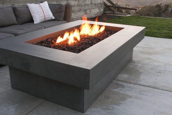 Olson Fire Table Concrete Firepit In 2019 Concrete