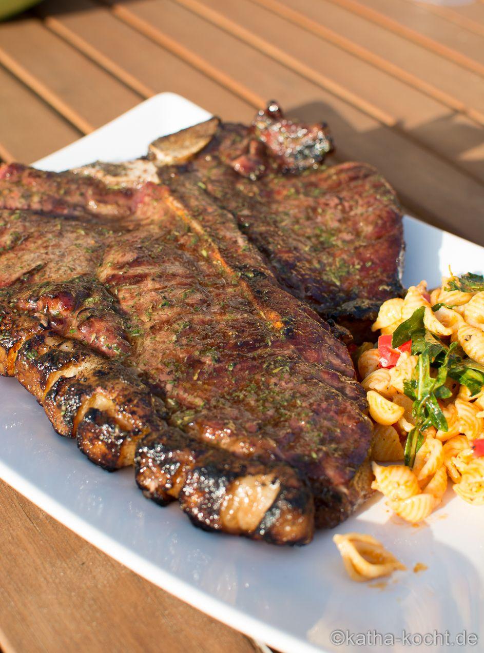 T Bone Steak Niedertemperatur