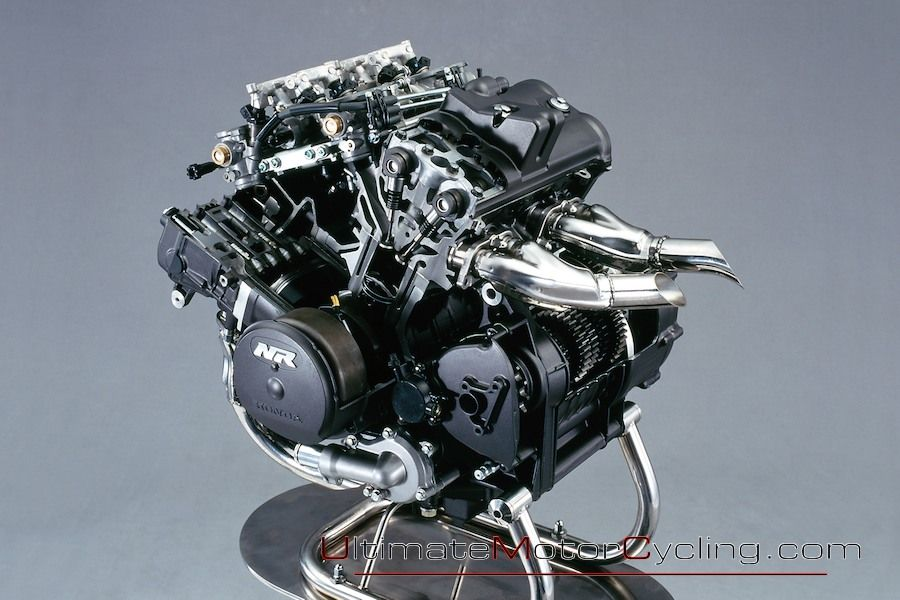 nr750 Incredible engine