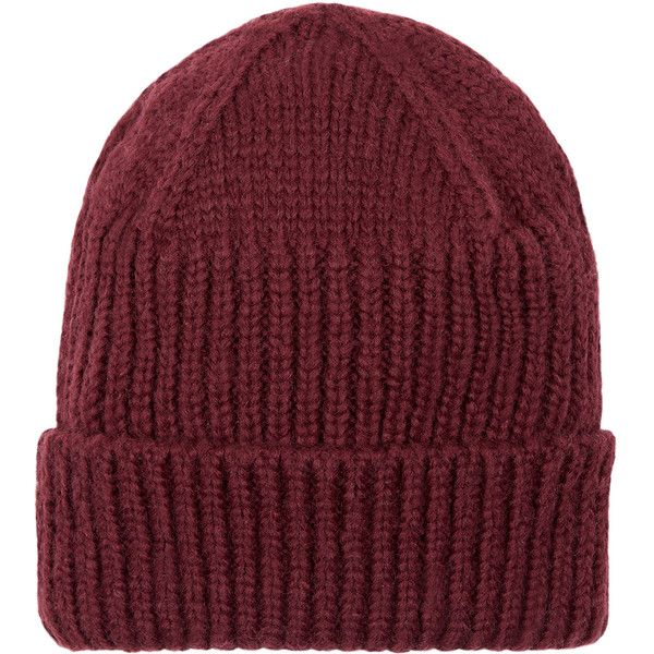 Accessorize Rib Turnup Beanie ($7.99) ❤ liked on Polyvore featuring accessories, hats, ribbed hat, ribbed beanie, ribbed beanie hat, beanie hats and beanie cap