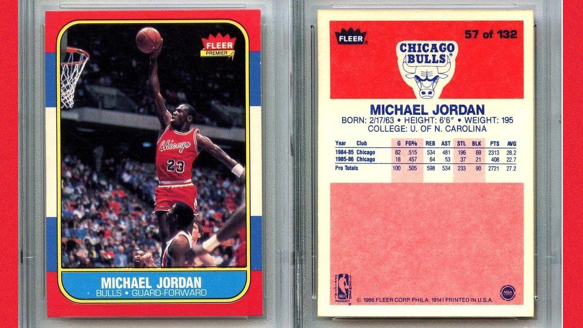 Most Valuable Sports Memorabilia Michael jordan chicago