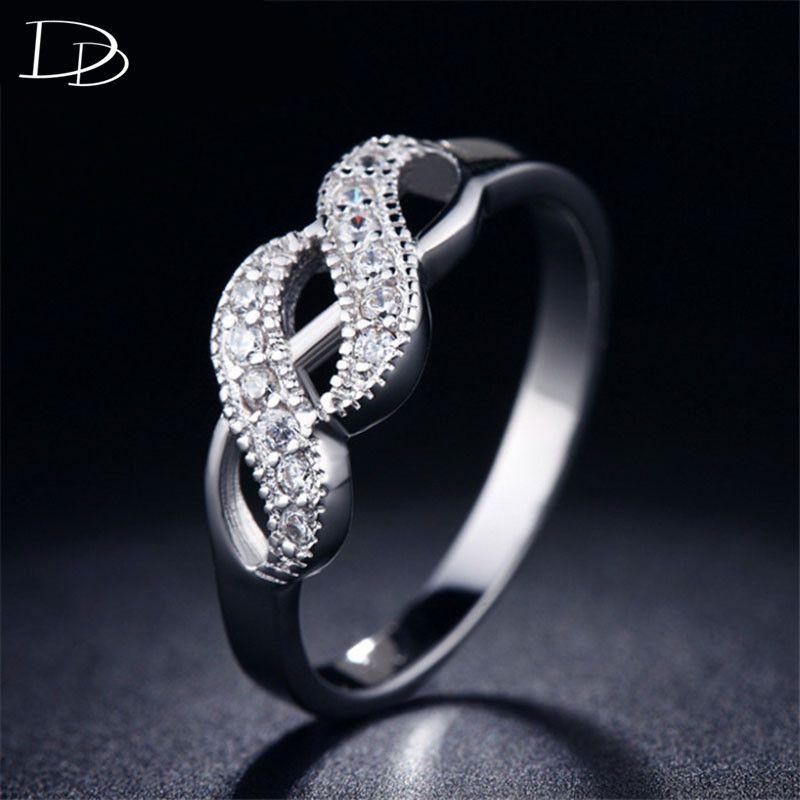 Charmante Prinses 925 sterling sliver ringen voor vrouwen CZ diamant sieraden accessoires bague vintage aneis hoge hoeveelheid DD018