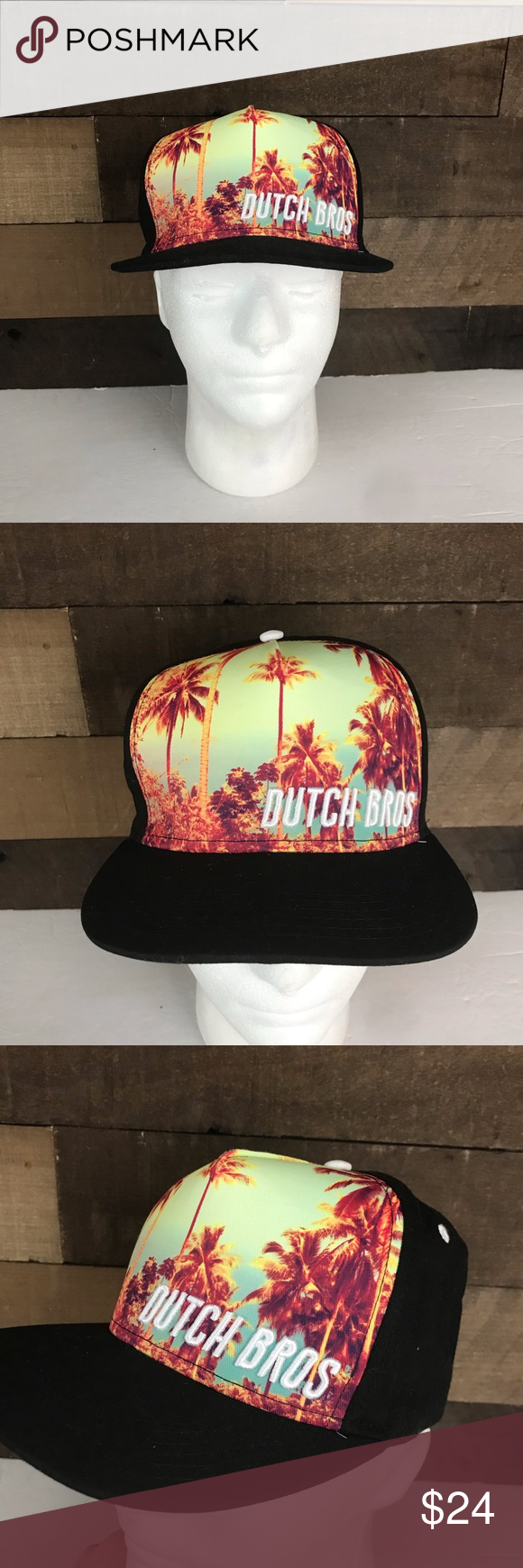 Dutch Bros coffee palm tree Snapback hat Dutch Bros Brothers Coffee Logo Palm Tree Black Flat Bill Snap Back Cap Hat Rare. Condition is Pre-owned very good please see photos.  Shipped with USPS First Class Package. Dutch Bros Accessories Hats #dutchbros Dutch Bros coffee palm tree Snapback hat Dutch Bros Brothers Coffee Logo Palm Tree Black Flat Bill Snap Back Cap Hat Rare. Condition is Pre-owned very good please see photos.  Shipped with USPS First Class Package. Dutch Bros Accessories Hats #dutchbros