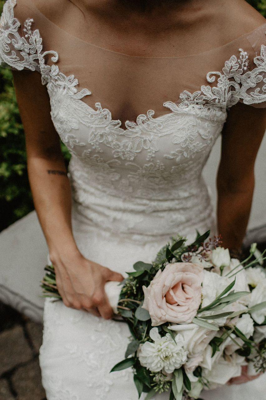 Style 2192 Champagne Ivory Ivory Wedding Dress Necklines Illusion Neckline Wedding Dress Short Wedding Dress [ 1280 x 853 Pixel ]