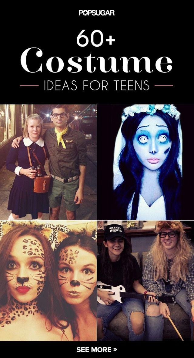 60 DIY Halloween Costume Ideas Tailored to Teens Costumes - halloween teen costume ideas