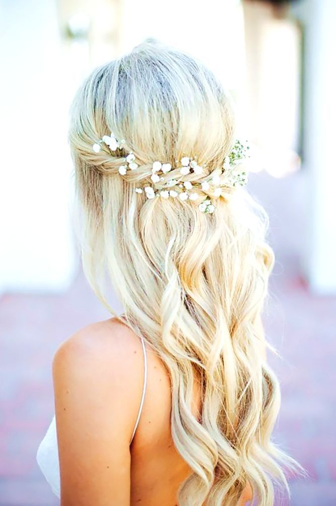 43 Bohemian Hairstyles Ideas For Every Boho Chic Junkie #Diyhairstyles   Half updo hairstyles ...