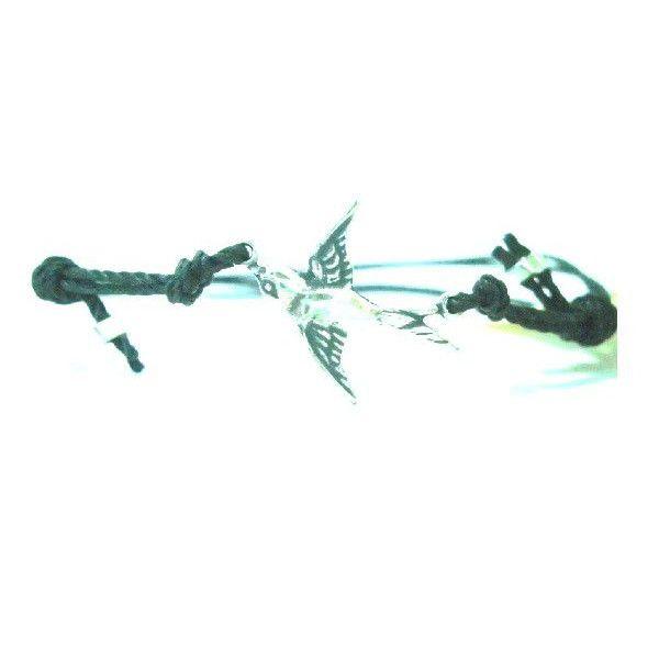 ブランド  : daniela sigurd jewelry ( ダニエラ シグルド ジュエリー ) 日本未上陸 ロンドン の お洒落 を 先取り ♪チャーム が沢山ついていてどれも かわいい、 ロンドンブランド です。 好評 の かわいいブレスレット です。【商品仕様】色 :  スワロー ブラック / シルバー : ブレスレットサイズ :  約14cm~約24cm  長さは結び目で調節ができま  素材 : 素材:コットン  *こちらの商品はクロネコメール便で発送いたします品番 :daniela sigurd black swallow bracelet【 全国送料無料 】 15時までのご注文は 当日発送いたします。代引き発送代引き発送は下記店舗にて お求めの商品でご利用いただけますhttp://letoilebeaut.fashionstore.jp/