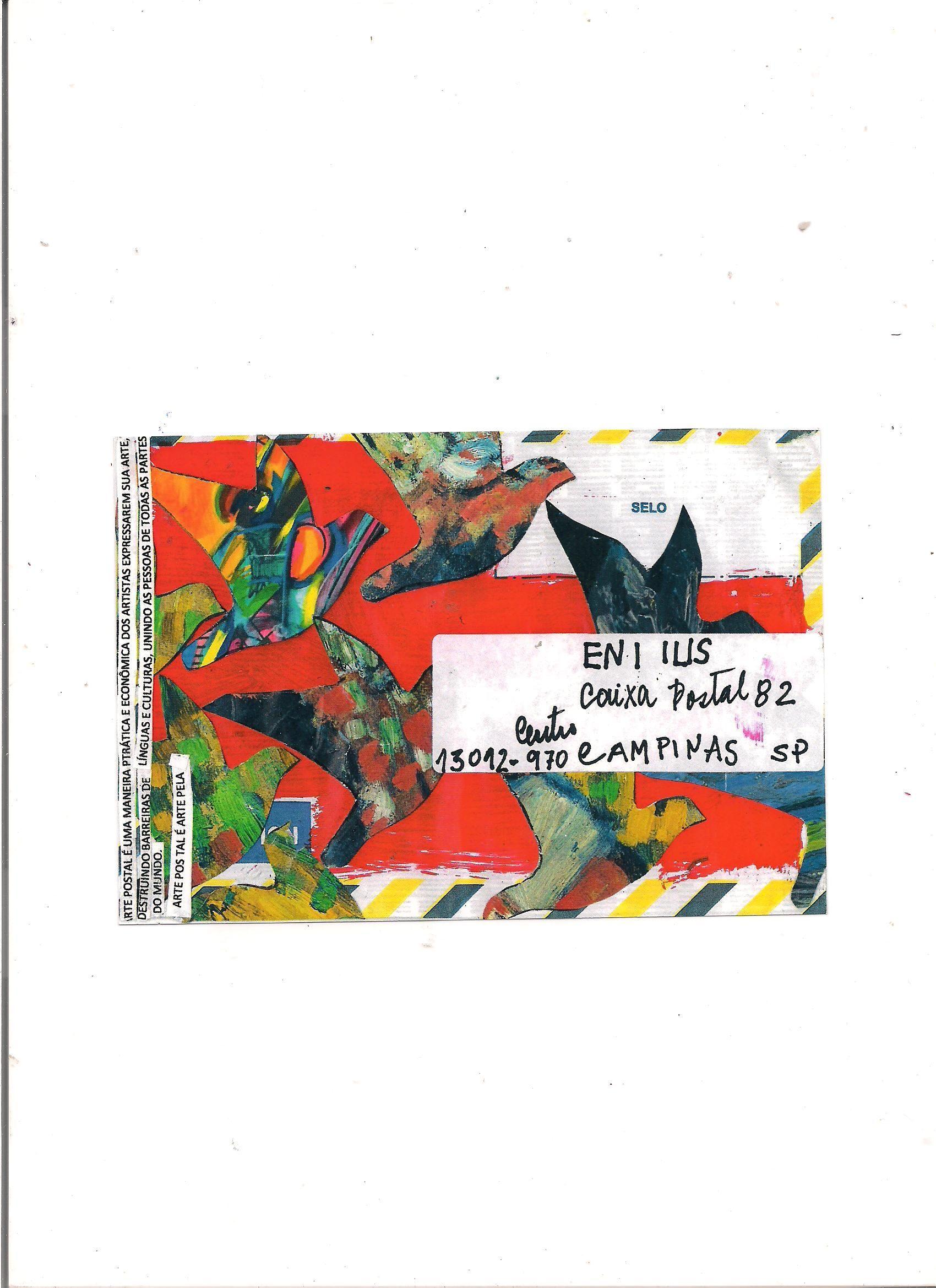 """""""O que é Arte? O que é Arte Postal?""""  - handmade What is Art? Mail Art Project  (Brasil) by Wilson Antonio"""