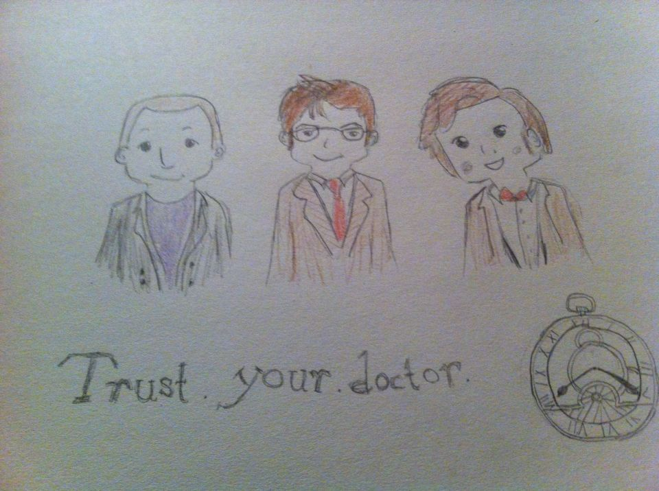 """""""Trust Your Doctor"""" by @angelinazoe"""