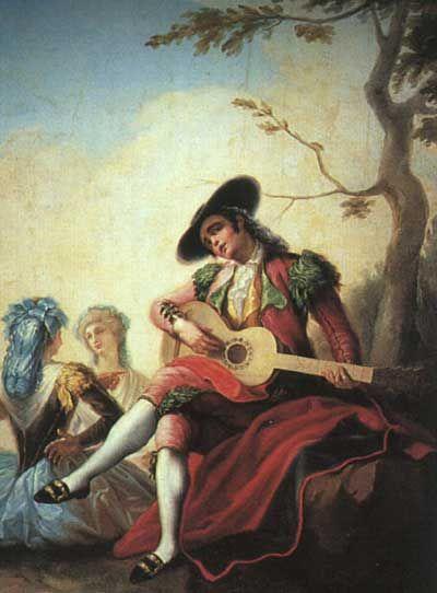 Nino Con Guitarra 1786 Ramon Bayeu Arte Y Musica Arte De La Guitarra Ciudad De La Pintura