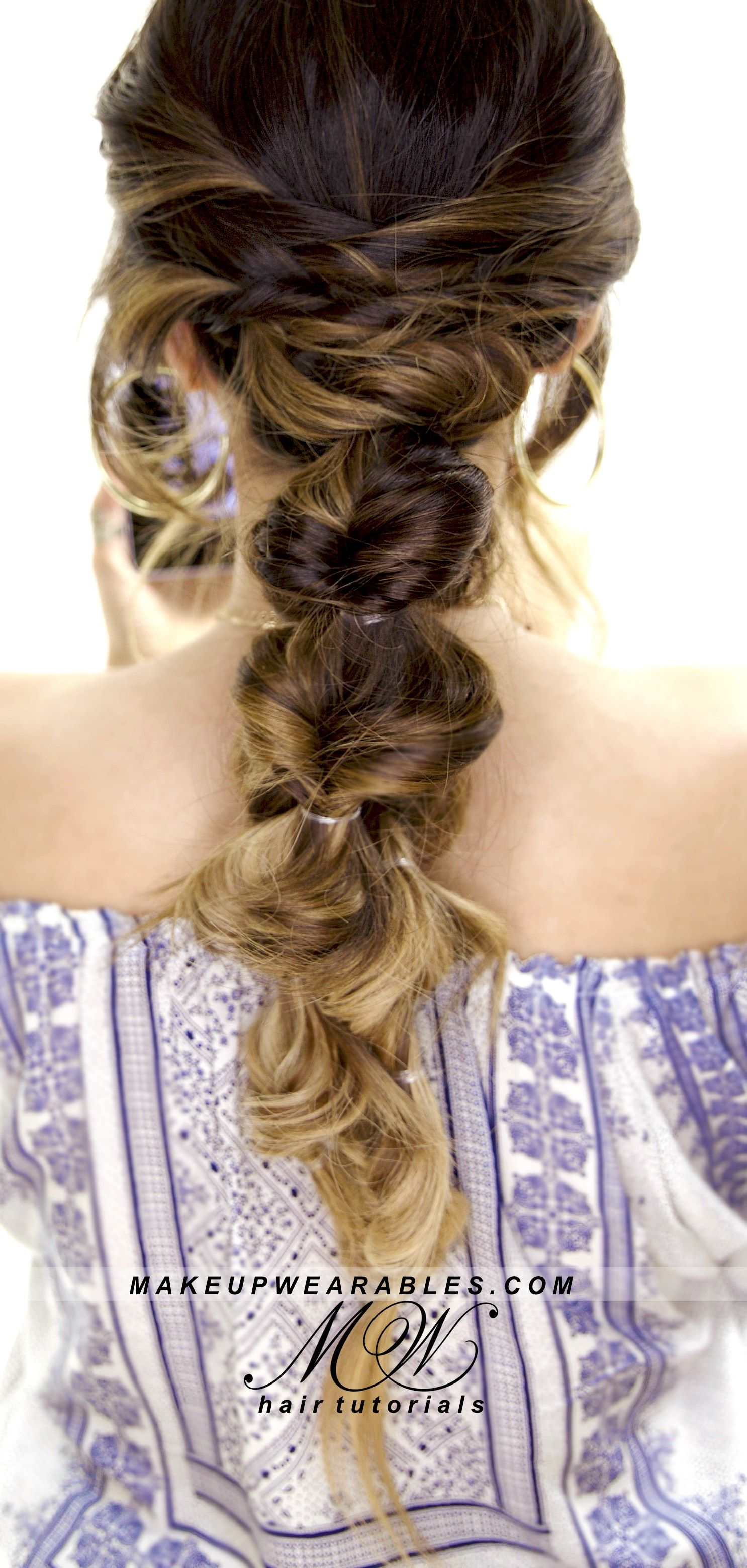 Have a hard time doing braids on yourself never fear this is a no 3 easy back to school hairstyles cute hairstyle makeupwearables hair tutorial solutioingenieria Image collections