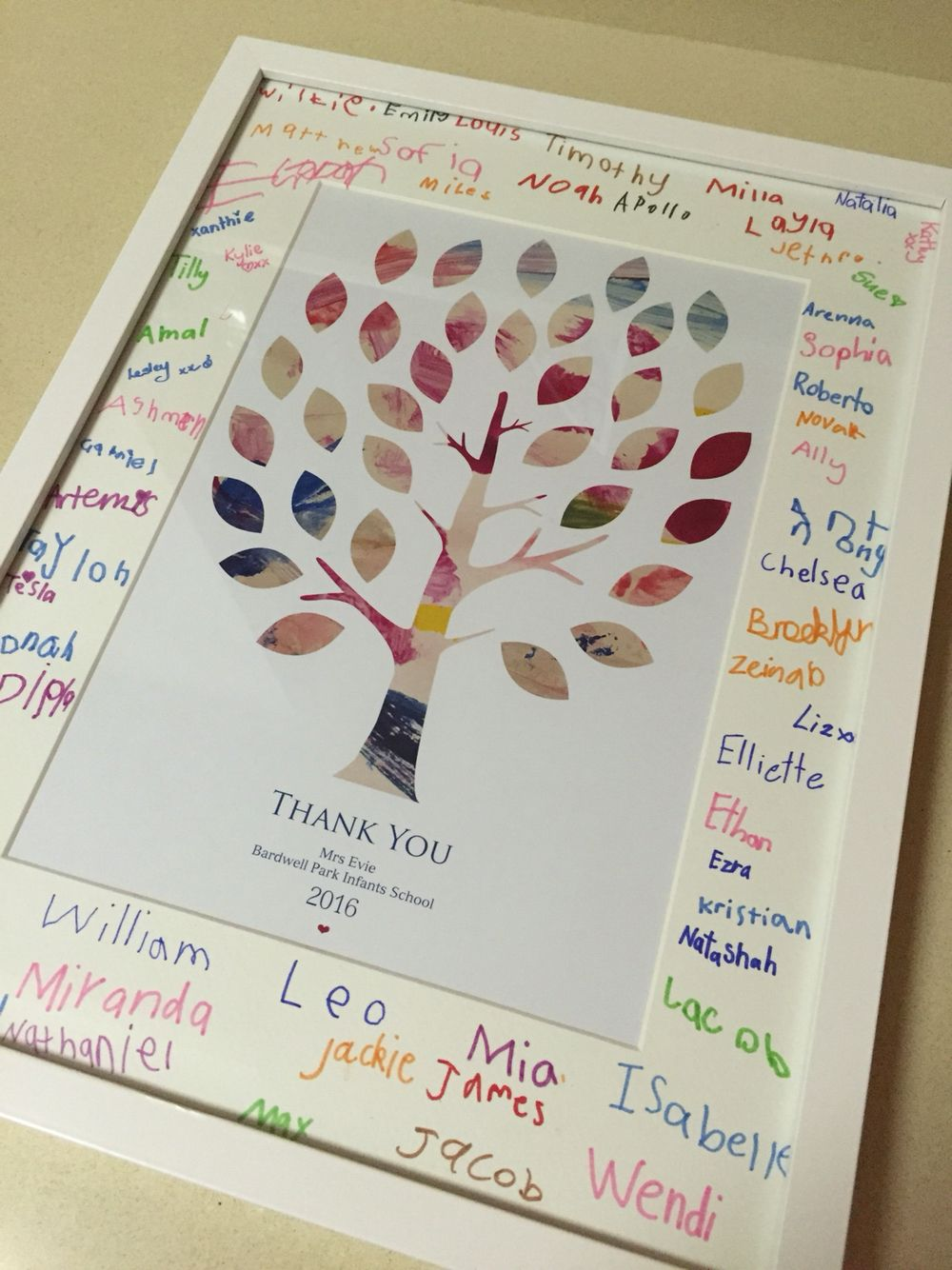 A farewell gift for a teacher … | Pinteres…