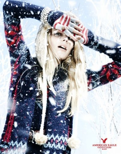 American Eagle - Holiday Winter 2010: American Eagle - Holiday : LookBooks™ - THE Source for Fashion Professionals
