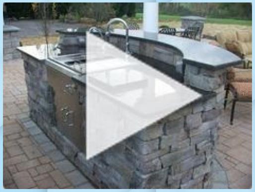 Granit Arbeitsplatte Outdoor Kuche Idee Cuisine Ouverte Ilot In 2020 Arbeitsplatte Granit Arbeitsplatte Outdoor Dekorationen