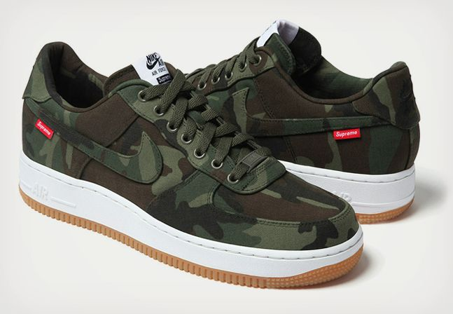 Supreme x Nike Air Force 1 NYCO Collection | Nike air force