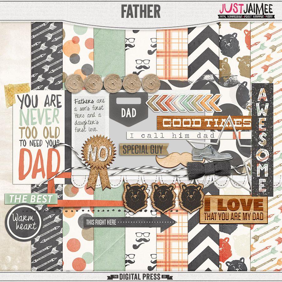 Just Jaimee -Father - Mini Kit. TDP Pennysaver Sale. $1.00*