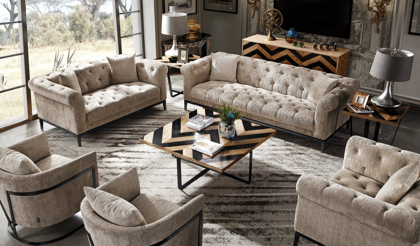 Awe Inspiring Foreman Configurable Sofa Set In 2019 House Decorating Short Links Chair Design For Home Short Linksinfo