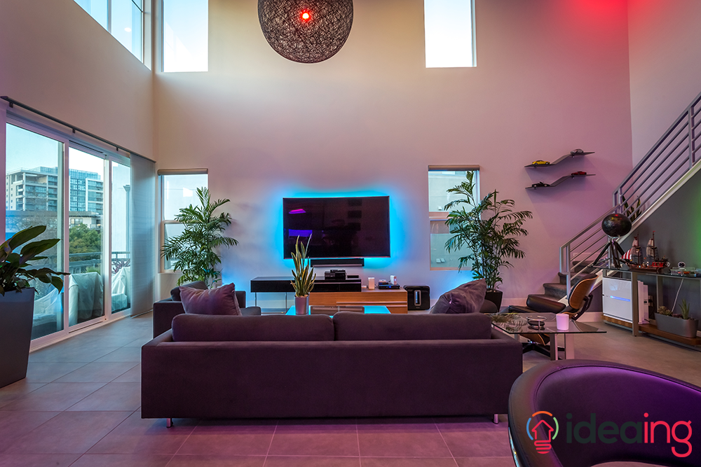 hue lighting ideas. Philips Hue LIghting Livingroom Lighting Ideas