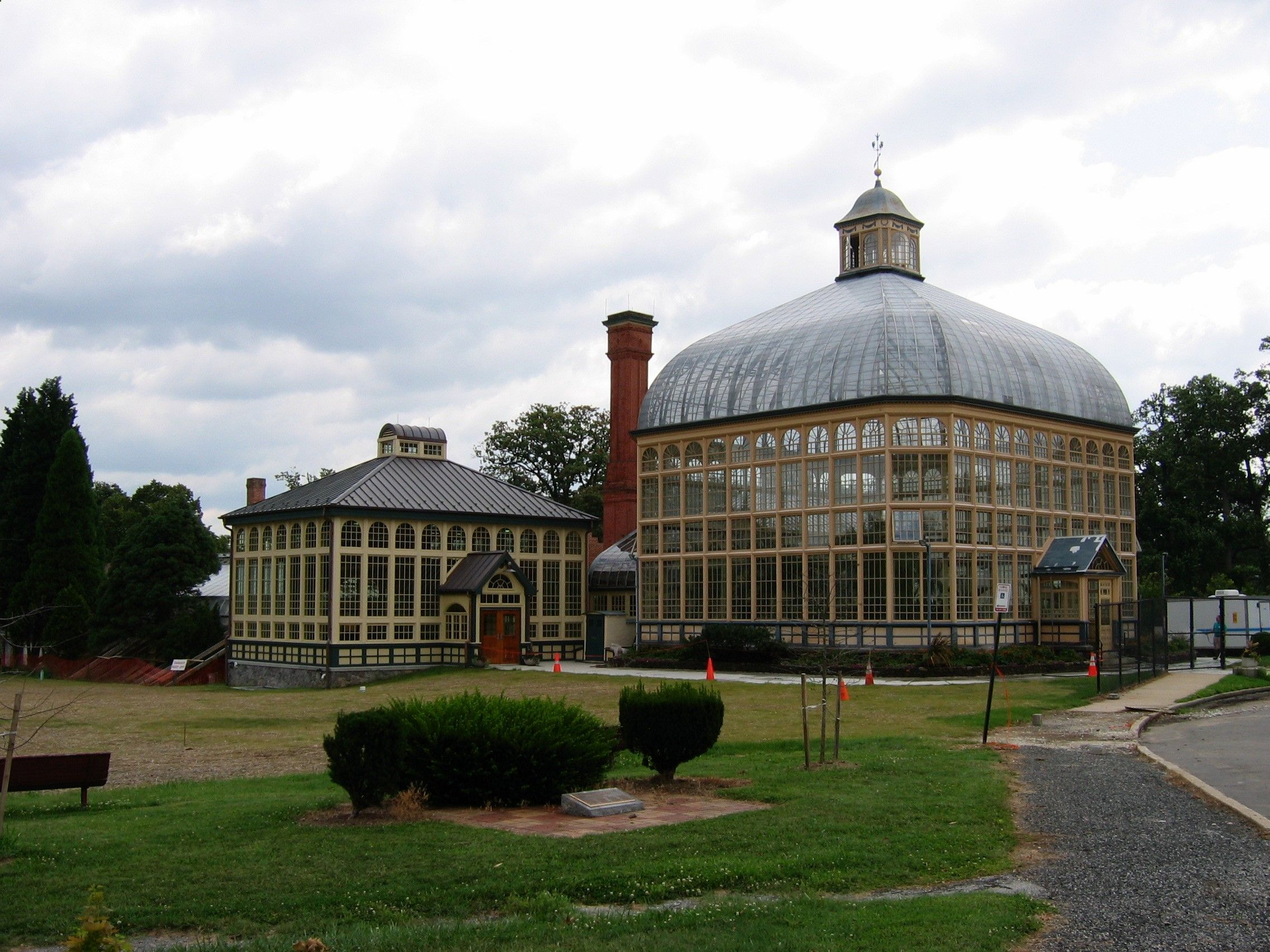Baltimore Conservatory | Location: Druid Hill Park Baltimore, MD Year  Built: 1888 Structural Form: Conservatory; Iron/steel And Glass Historical  Details: It ...