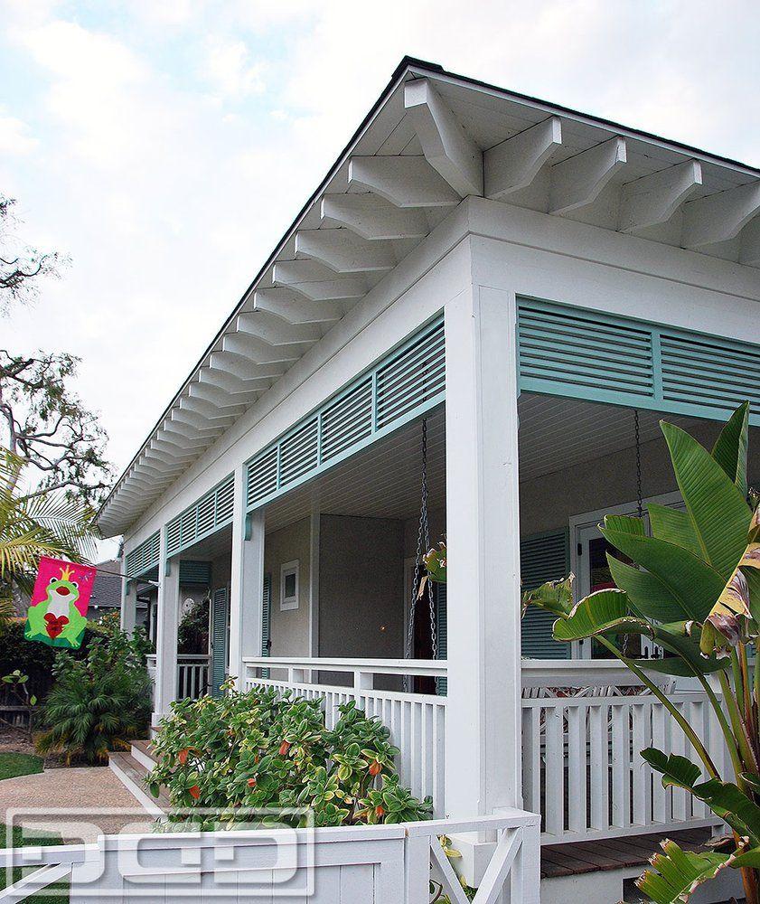 Architectural Eyebrow Bahama-Style