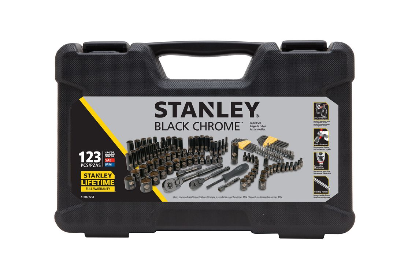 Stanley STMT71652 123Piece Mechanics Tool Set Walmart