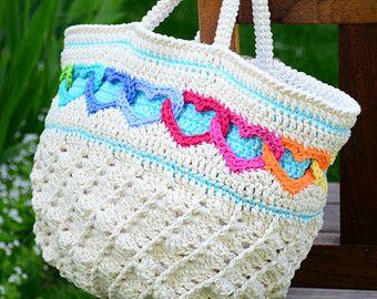 Crochet Pattern Boho Bag Crochet Bag Pattern African Flower