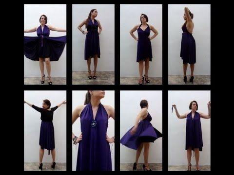 Cómo hacer un vestido sin dar una sola puntada - How to make a - 15 minuten k che