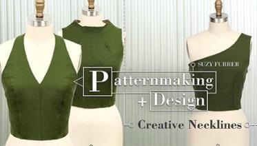 Patternmaking + Diseño: escotes creativas
