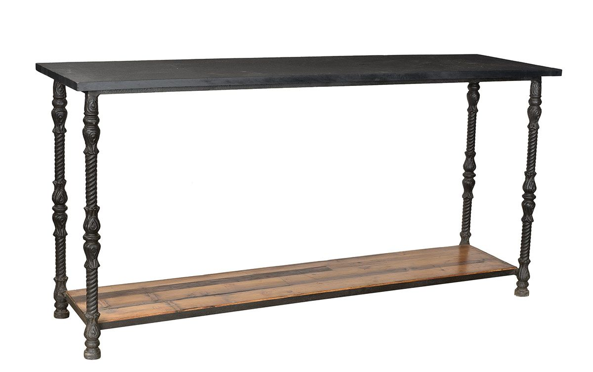 Pin By Bev Forbes Design On Presidential Safari Retreat Stone Top Console Table Sideboard Console