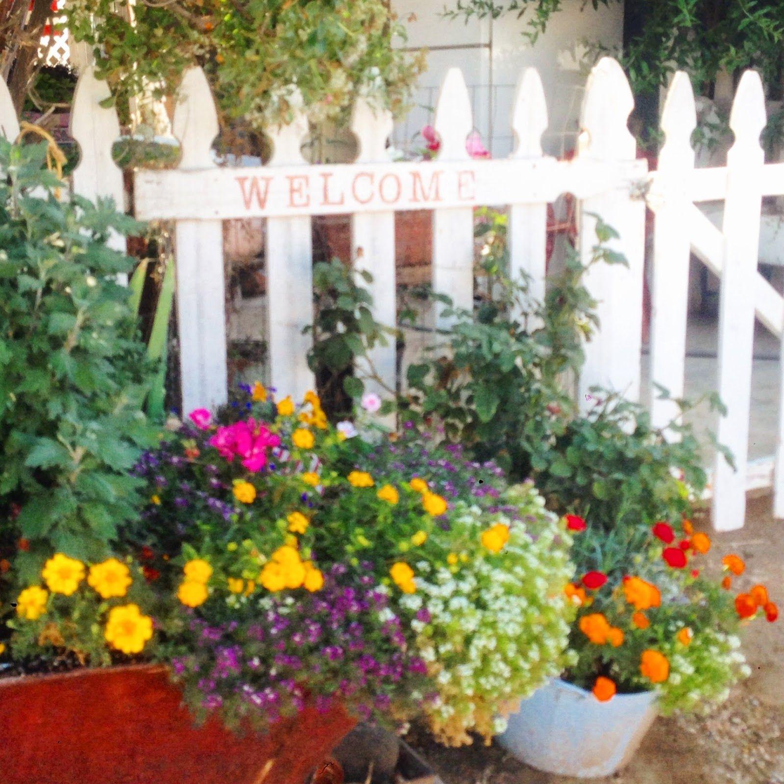 Garden Decor At Ribbonwood Cottage
