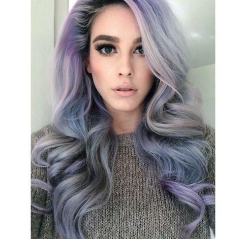 lavender grey hair | Tumblr | hairstyles   color | Pinterest ...