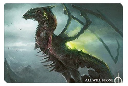 MTG Skithiryx, the Blight Dragon Multi Use Play Mat by Charms, http:/