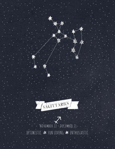 Sagittarius Constellation Astrology Art Print Wallpaper Sagitarious Tattoos Tatoos