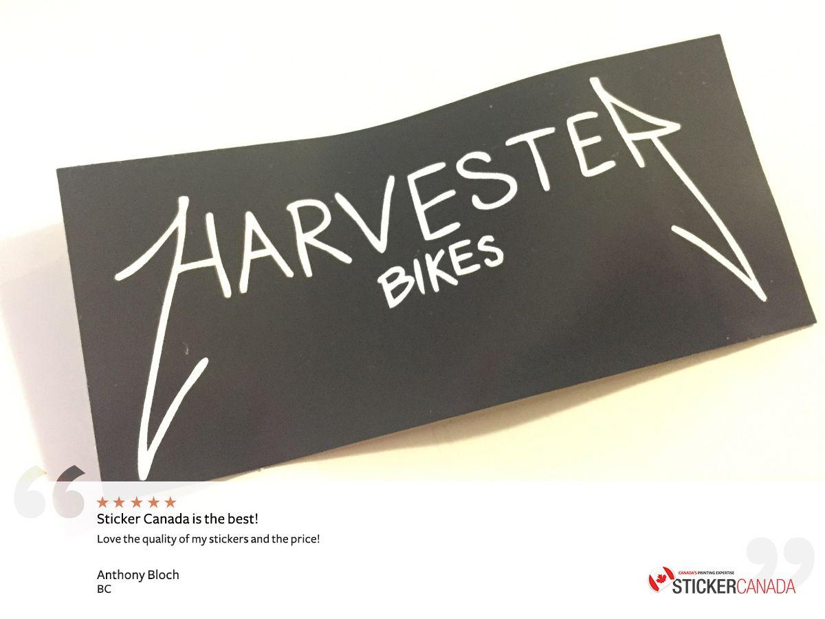 Canada stickers design print testimonial