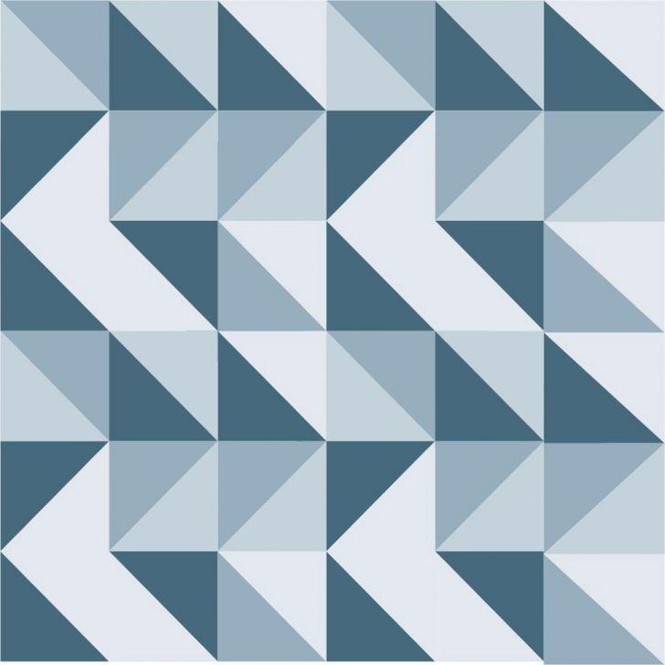 Artesanato Portugues Revenda ~ Papel de Parede Adesivo Geométrico 50x1040cm Azul Dona Cereja Revestimentos Pinterest