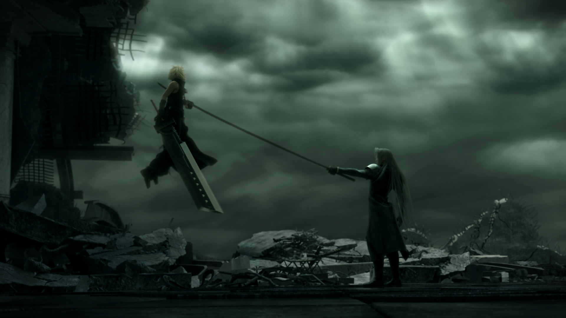 89 final fantasy vii advent children hd wallpapers backgrounds - Hd Wallpaper And Background Photos Of Cloud Vs Sephiroth For Fans Of Final Fantasy Vii Images Advent Children