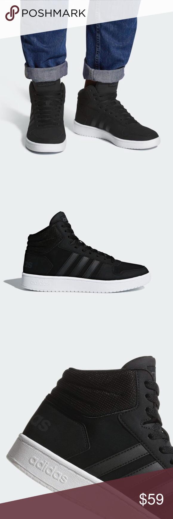 Adidas HOOPS 2.0 MID SHOES DB0113 b31,39,46 HOOPS 2.0 MID