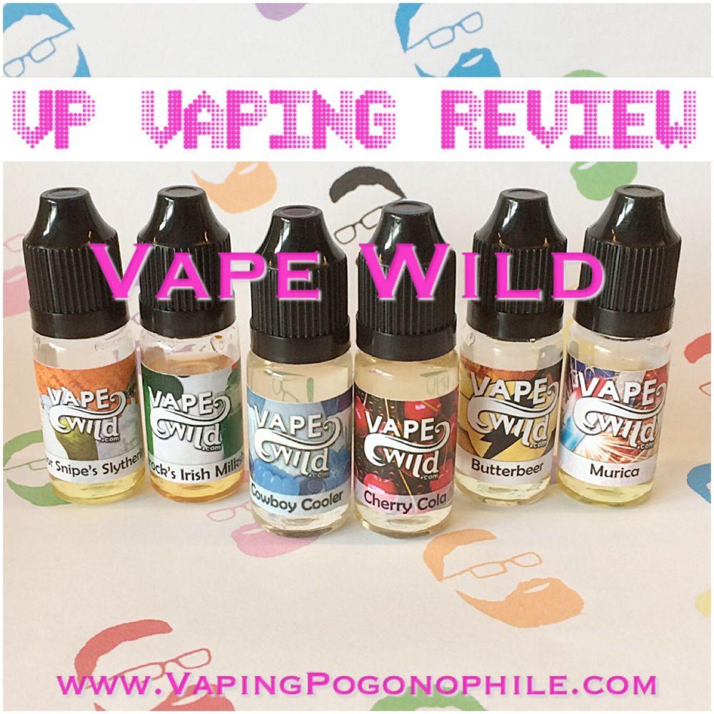 VP Vaping Review: Vape Wild | VapeWild Reviews | Vape, Bottle