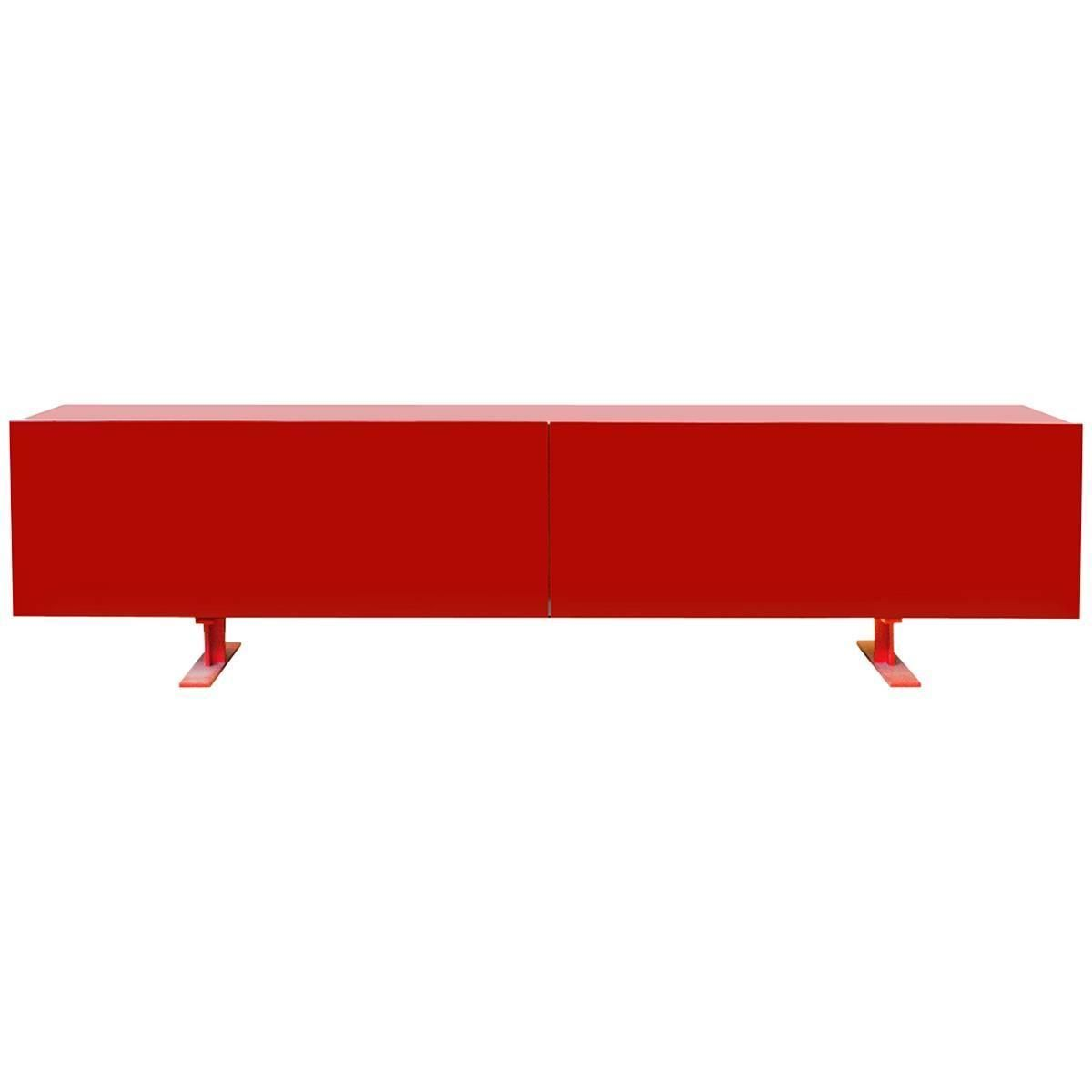 Cappellini Luxor Cabinet By Giulio Cappellini Red Italy
