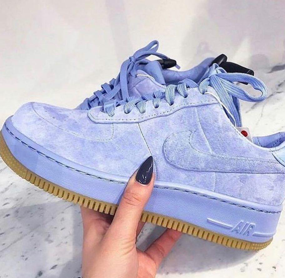 nike air force blue velvet