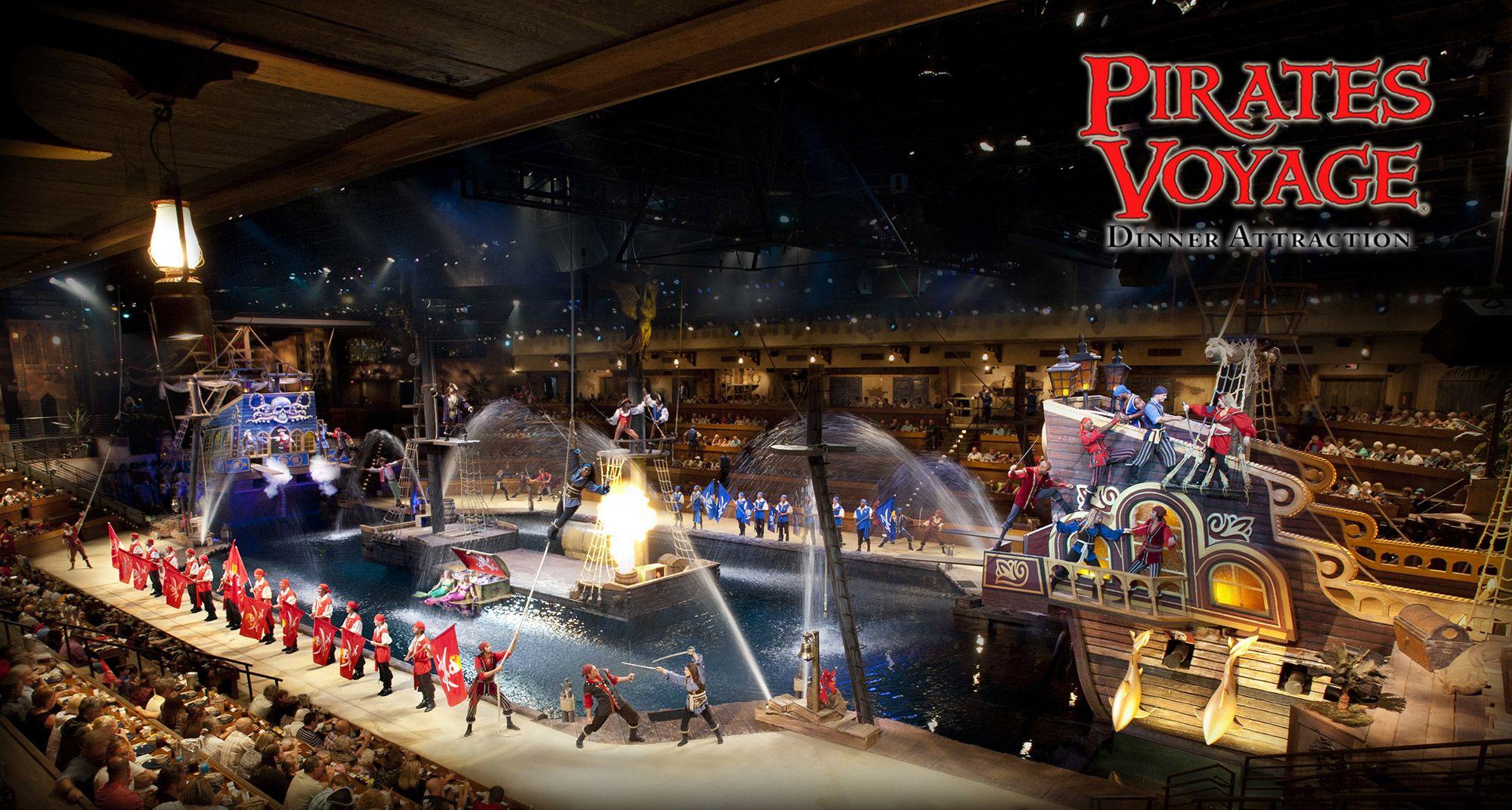 Pirates Voyage, Dinner Show in Myrtle Beach, SC   Voyage ...